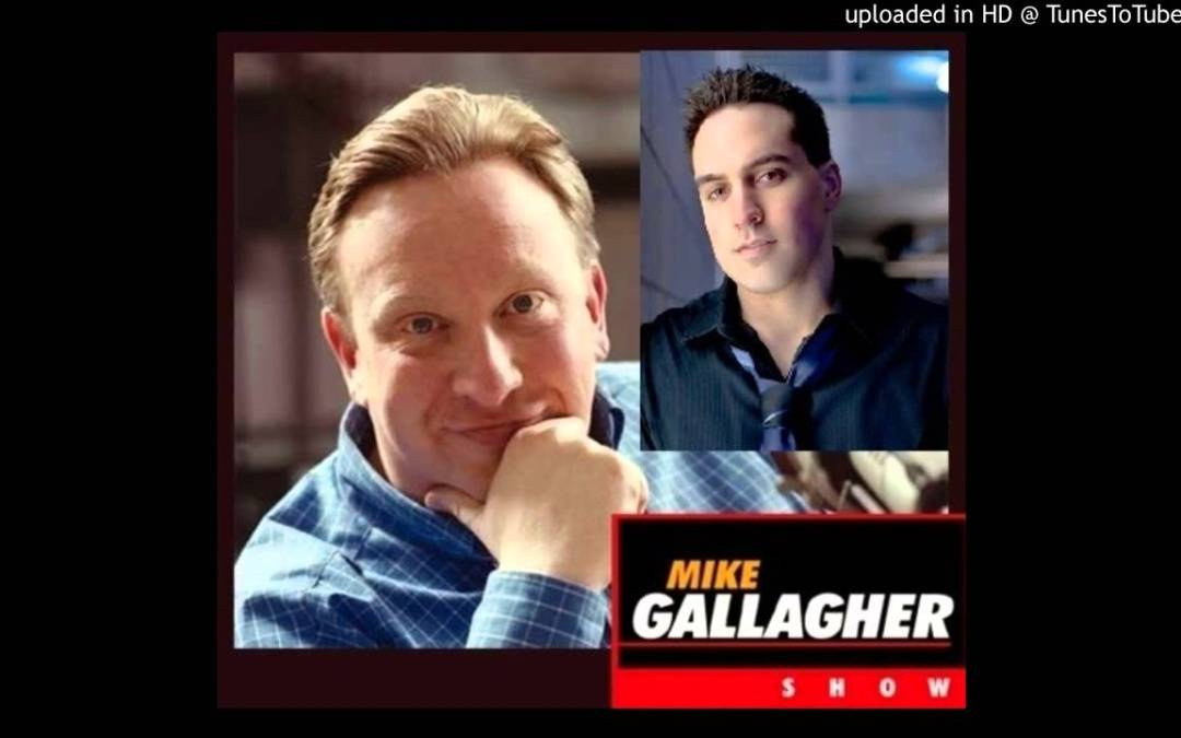 """Mike Gallagher Interviews the """"Tough, Gutsy Guy"""" Named Jason Mattera"""